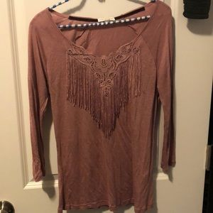 The Buckle blouse - size small